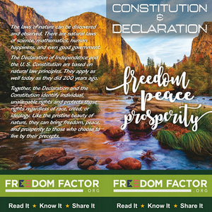 Pocket Constitution (Freedom, Peace, Prosperity)