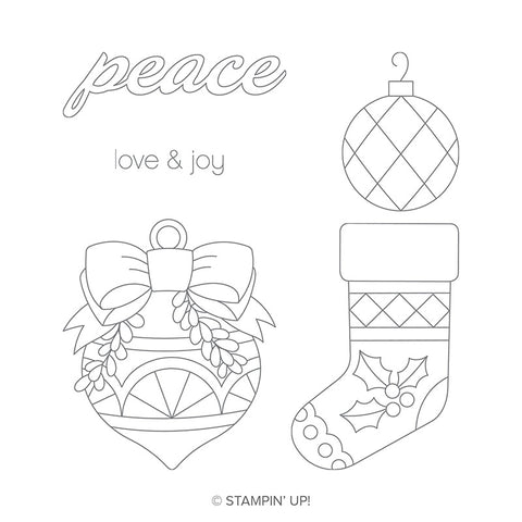 Great Joy | Retired Clear Mount Stamp Set | Stampin' Up!®