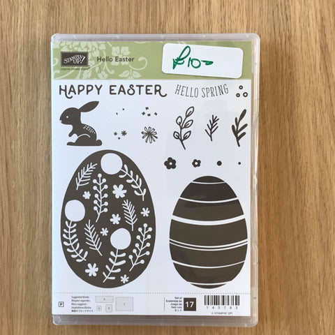 Hello Easter | Retired Photopolymer Stamp Set | Stampin' Up!®