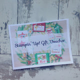 Christmas Wreath Gift Voucher (Instant Download & Print)