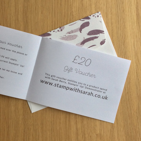 Birthday Gift Voucher (Instant Download & Print)
