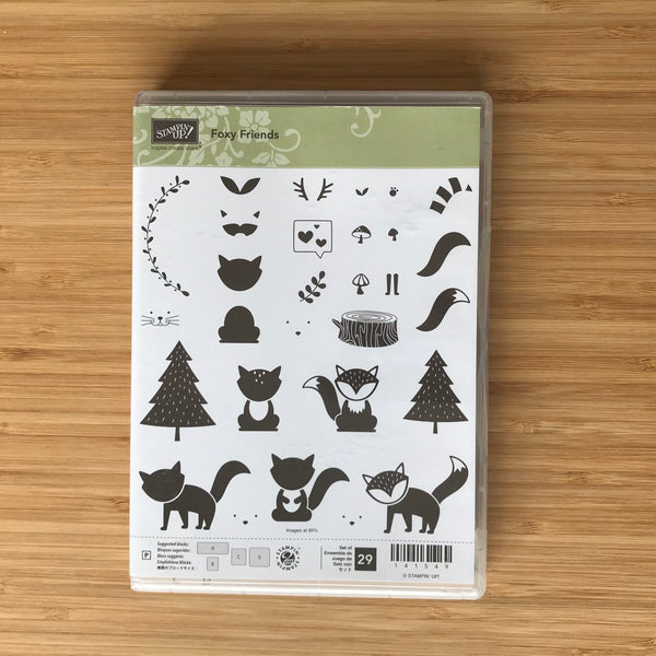 Foxy Friends | Retired Photopolymer Stamp Set  | Stampin' Up!®