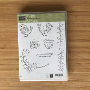Feathery Friends | Retired Clear Mount Stamp Set  | Stampin' Up!®