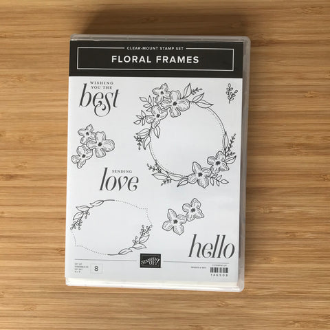 Floral Frames | Retired Clear Mount Stamp Set & Dies | Stampin' Up!®