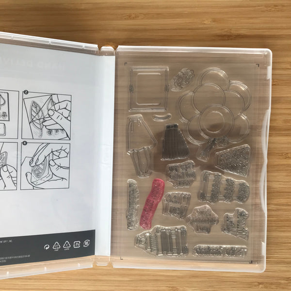 Hand Delivered | Retired Photopolymer Stamp Set  | Stampin' Up!®