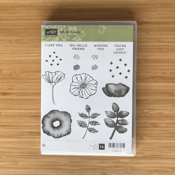 Oh So Eclectic | Retired Clear Mount Stamp Set  | Stampin' Up!®