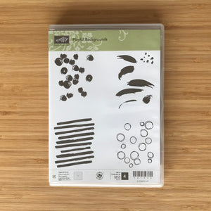 Playful Backgrounds | Retired Photopolymer Stamp Set  | Stampin' Up!®