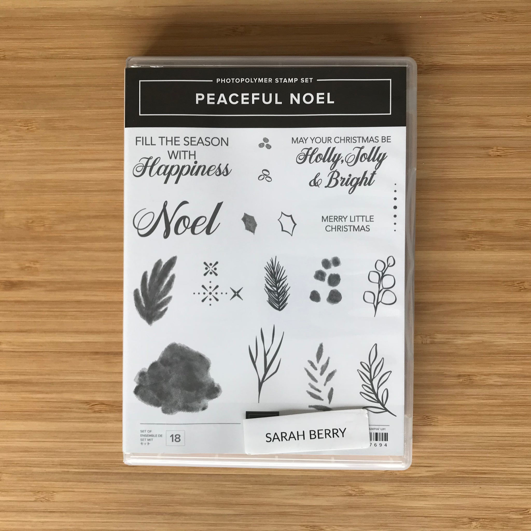 Peaceful Noel | Retired Photopolymer Stamp Set  | Stampin' Up!®