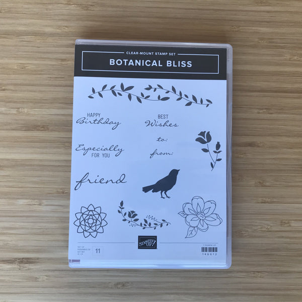 Botanical Bliss | Retired Clear-Mount Stamp Set & Dies | Stampin' Up!®
