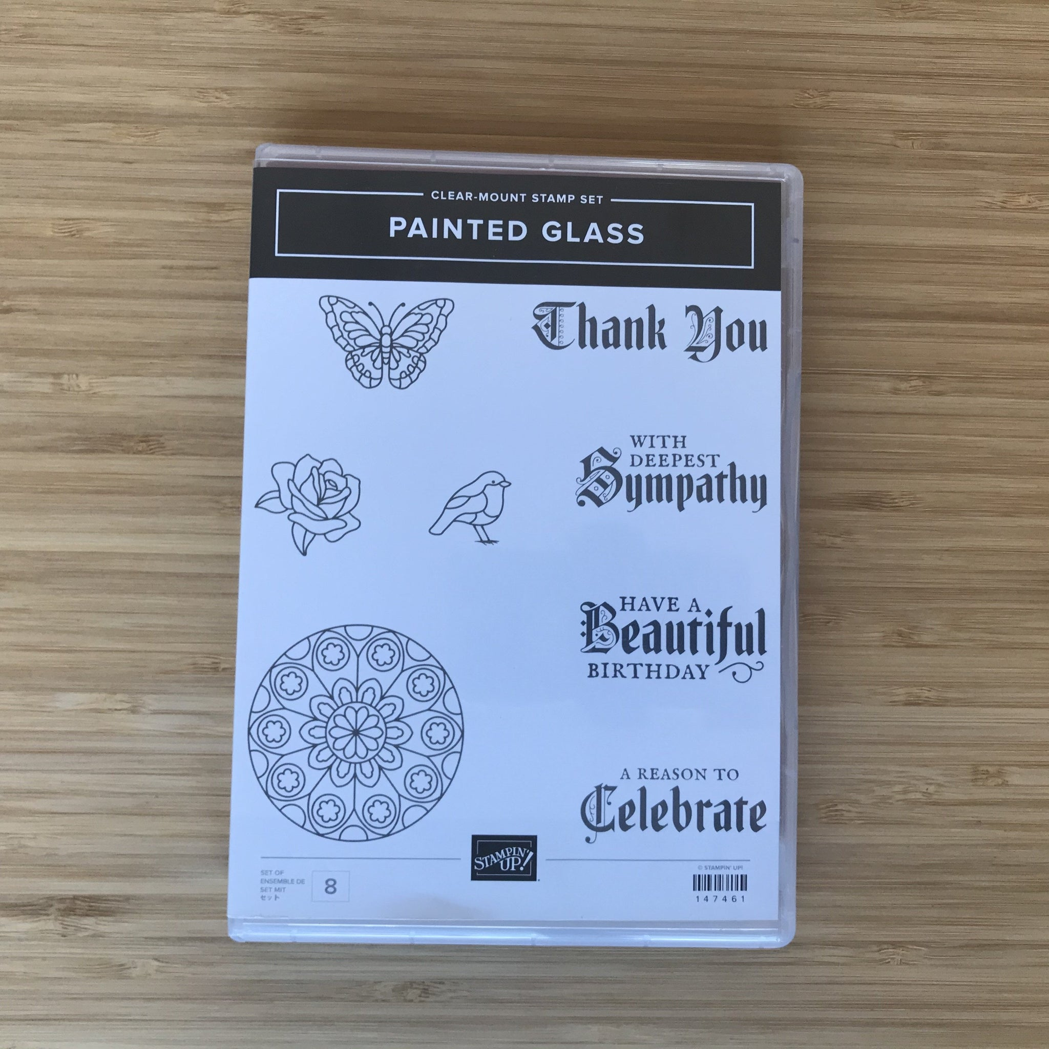 Painted Glass | Retired Clear-Mount Stamp Set & Dies | Stampin' Up!®