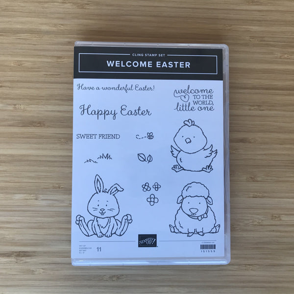 Welcome Easter | Retired Cling Stamp Set  | Stampin' Up!®