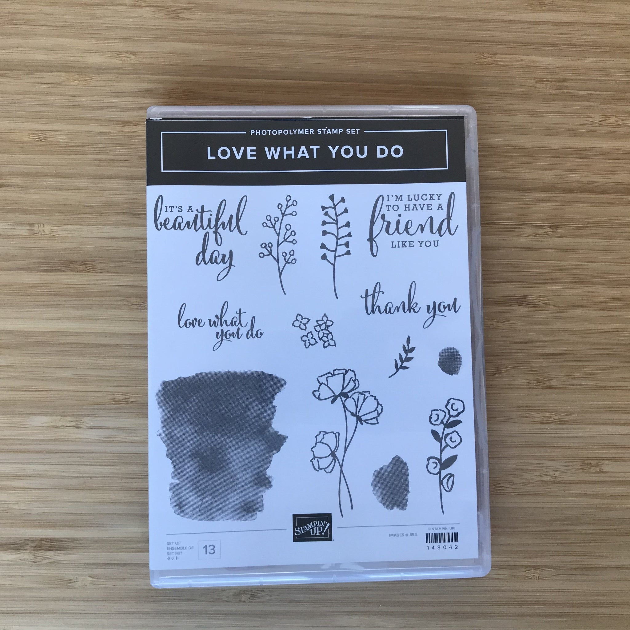 Love What You Do | Retired Photopolymer Stamp Set | Stampin' Up!®