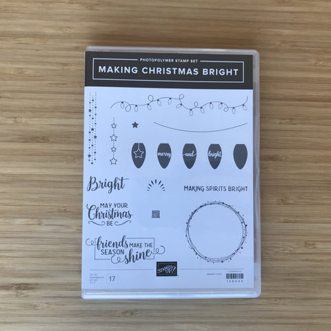 Making Christmas Bright | Retired Photopolymer Stamp Set & Punch | Stampin' Up!®