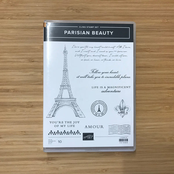 Parisian Beauty | Retired Cling Stamp Set & Dies | Stampin' Up!®