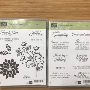 Flourishing Phrases | Retired Clear-Mount Stamp Set with Dies | Stampin' Up!®
