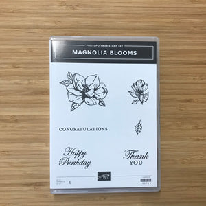 Magnolia Blooms | Retired Photopolymer Stamp Set | Stampin' Up!®
