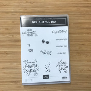 Delightful Day | Retired Photopolymer Stamp Set | Stampin' Up!®
