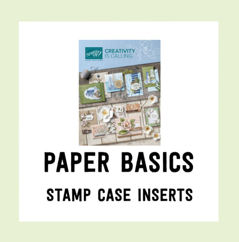 Paper Basics - Annual Catalogue 2019-2020