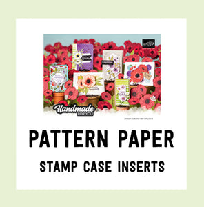 Pattern Paper - Jan-June Mini Catalogue 2020