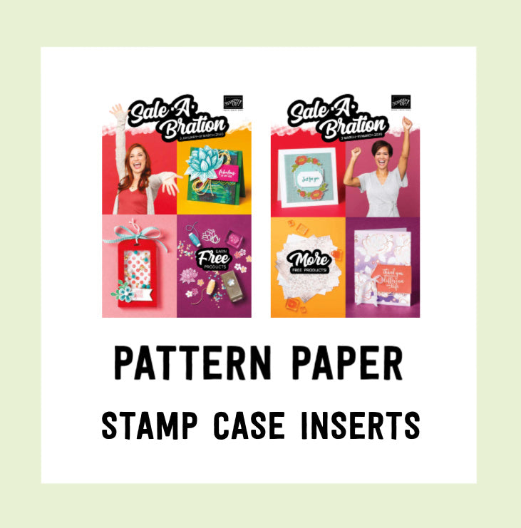 Stamp Case Inserts