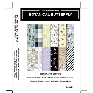 Botanical Butterfly DSP - Kylie Bertucci #loveitchopittopieces