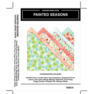 Painted Seasons DSP - Kylie Bertucci #loveitchopittopieces