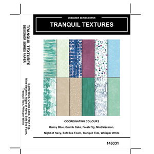 Tranquil Textures DSP - Kylie Bertucci #loveitchopittopieces