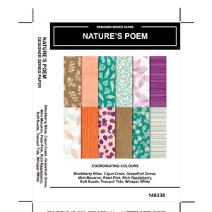 Nature's Poem DSP - Kylie Bertucci #loveitchopittopieces