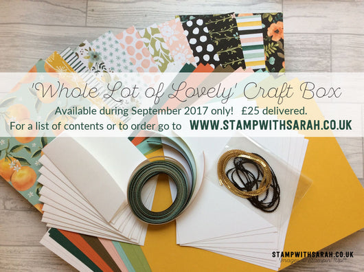 Whole Lot of Lovely Craft Box - September 2017