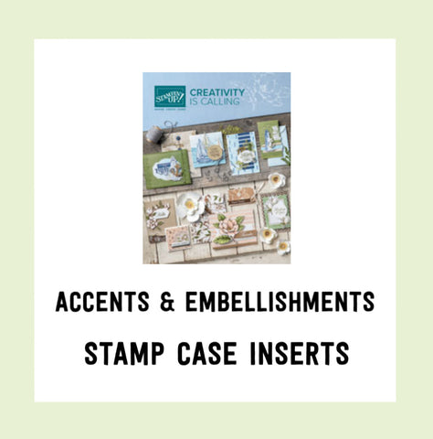 Accents & Embellishments - Annual Catalogue 2019-2020