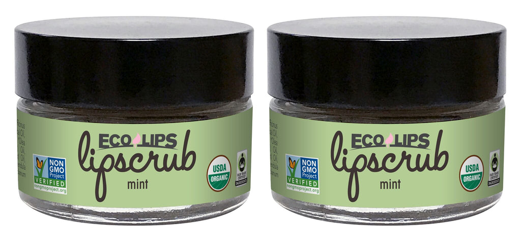 Lip Scrub Mint 2 Pack