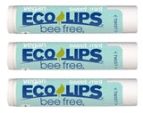 Bee Free® 3-Pack Vegan Sweet Mint Lip Balm