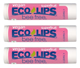 Bee Free® 3-Pack Vegan Superfruit Lip Balm