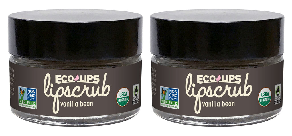 Lip Scrub Vanilla Bean 2 Pack