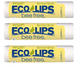 Bee Free® 3-Pack Vegan Lemon Lime Lip Balm