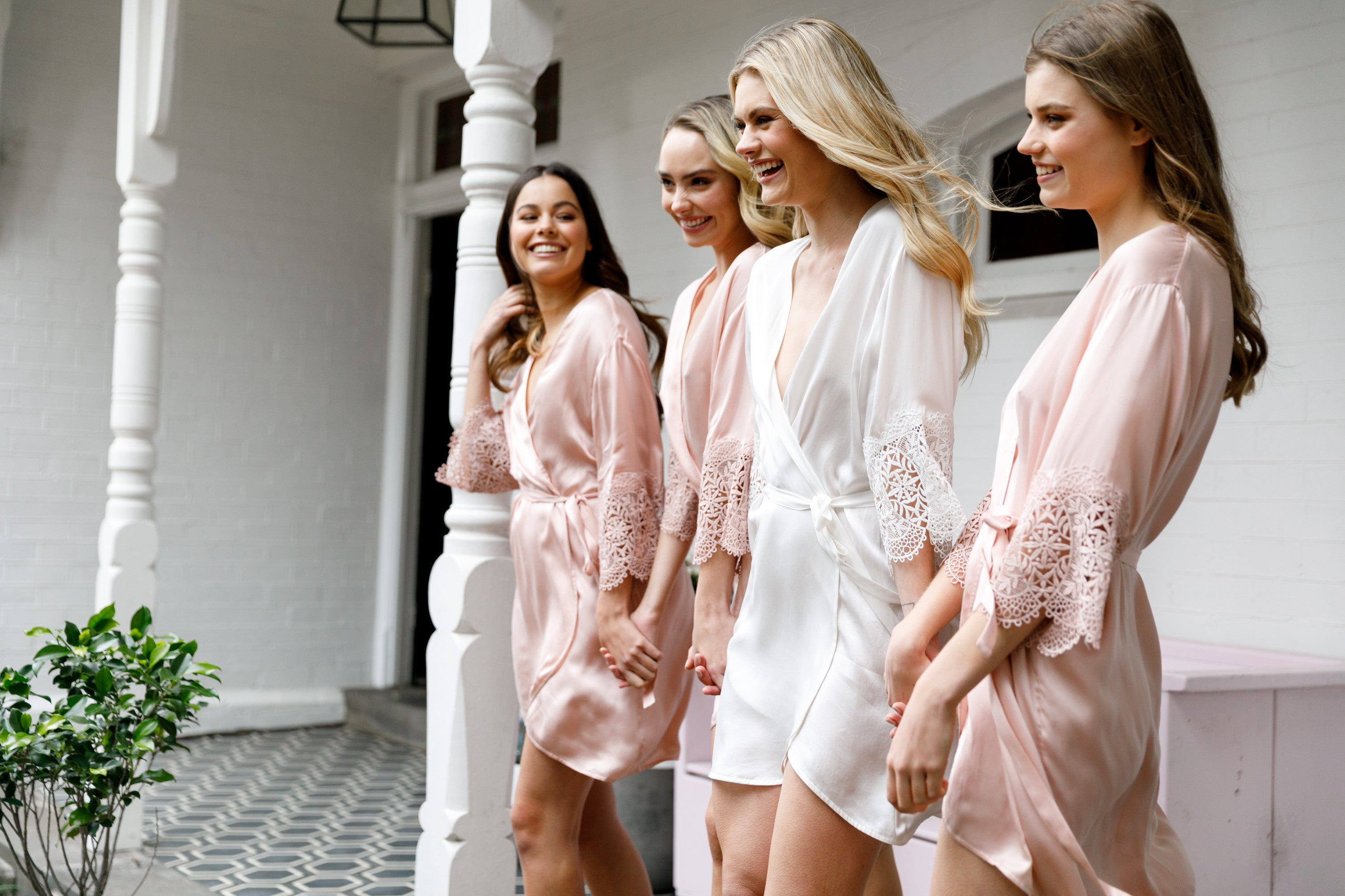 Outstanding Bridesmaid Dressing Gowns Australia Component - Best ...