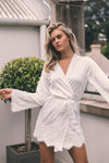Grace Pearl Beaded Robe - Includes Slip