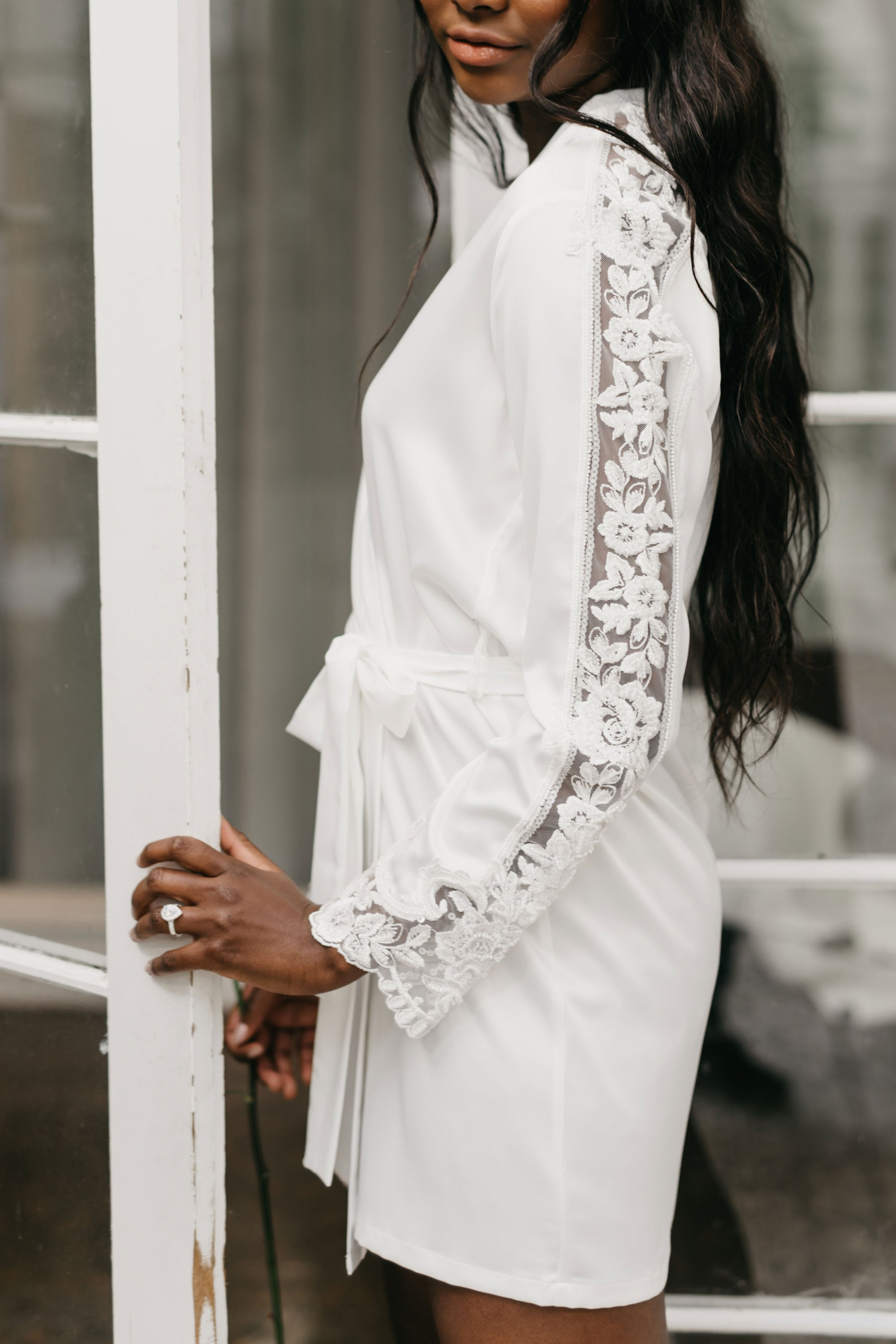 Alicia Beaded Robe