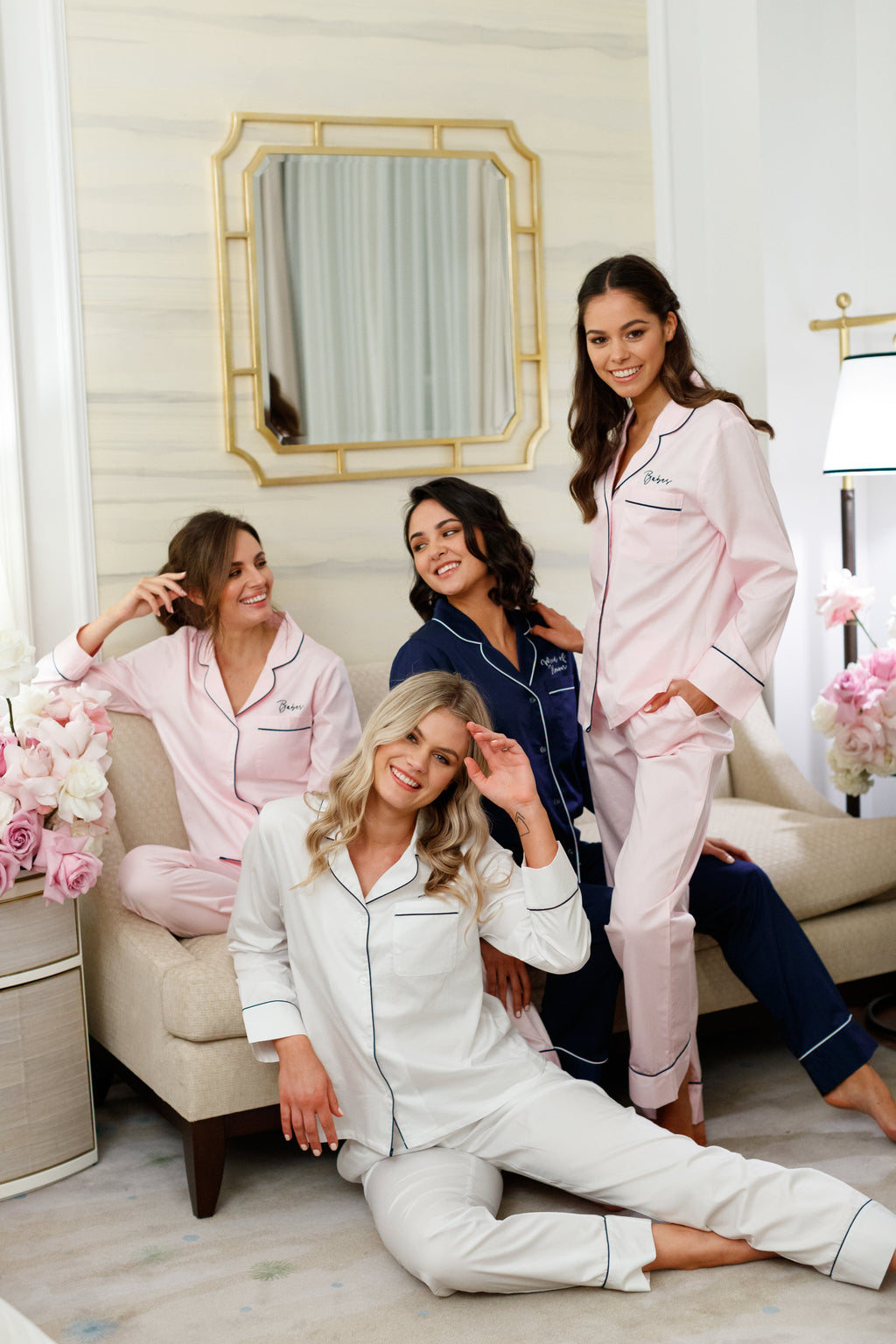 Alice Cotton Long Pyjama Set - lerose AU