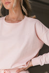 Lanie French Terry Sweat Top - lerose AU