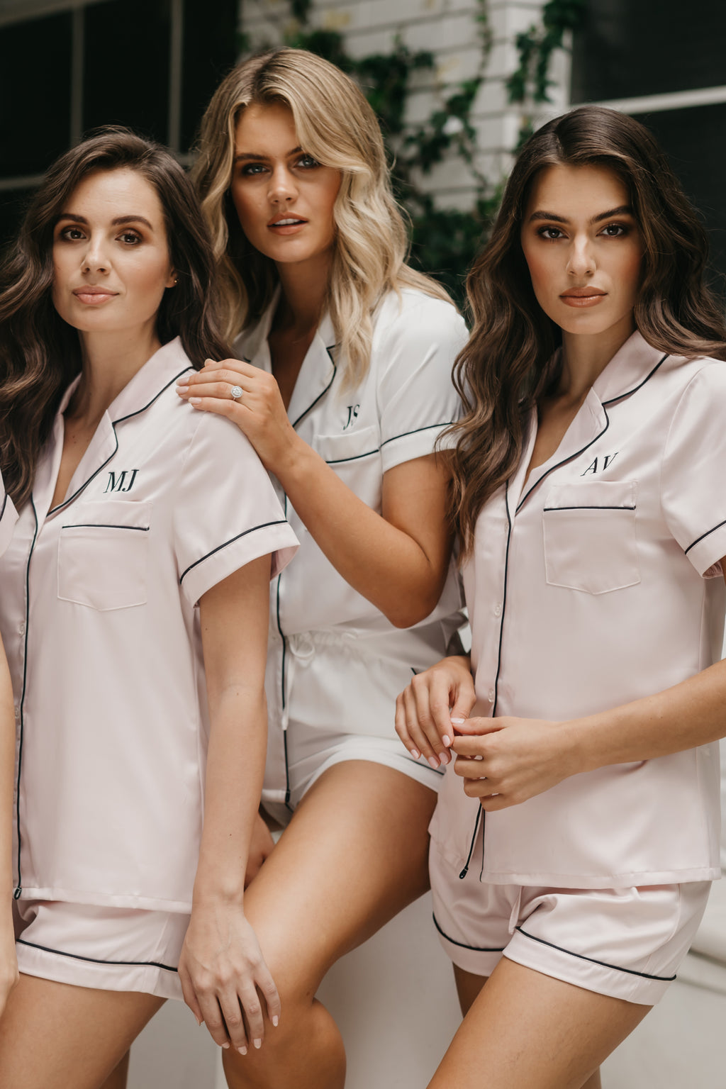 Bridesmaid Pyjamas Le Rose