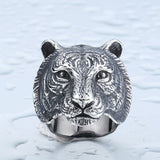 Tiger Skull Ring - Mens Watches,  - Mens Accessories, Hygge - Hygge Gentlemen's Outfitters, Hygge - Hygge Gentlemen's Outfitters