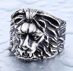 Lion Skull Ring - Mens Watches,  - Mens Accessories, Hygge - Hygge Gentlemen's Outfitters, Hygge - Hygge Gentlemen's Outfitters