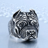 British Bulldog Skull Ring - Mens Watches,  - Mens Accessories, Hygge - Hygge Gentlemen's Outfitters, Hygge - Hygge Gentlemen's Outfitters