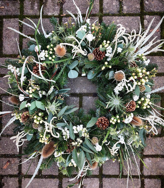 Luxury Xmas Wreath Making & Lazy Saturday Lunch