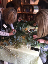 Christmas Table Decoration  Making Workshop & Lunch
