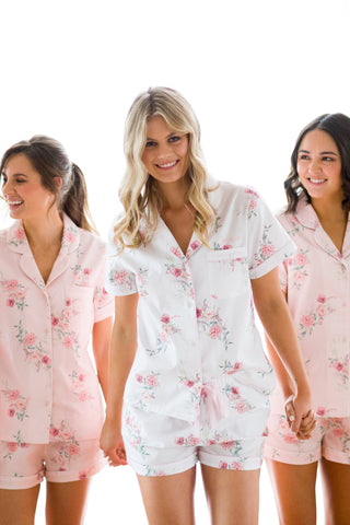 Sophia Sweet Bloom Cotton Long Pyjama Set
