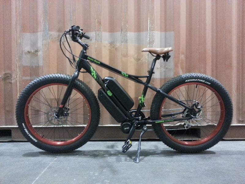 Fat tire e-bike conversion