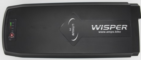 Wisper e-bike battery