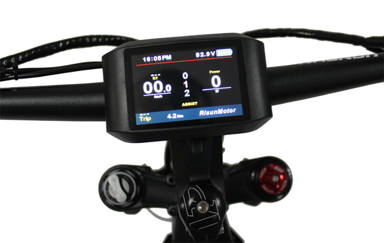 Fast ship 36-72V 1500W 18 MOSFET 50A eBike Controller with 750C Color Display